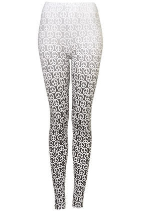 Dripping Peace Dip Dye Leggings - Leggings - Trousers & Leggings  - Clothing