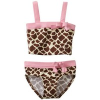 Pink Platinum Baby-Girls Infant Giraffe 2 Piece Swinsuit