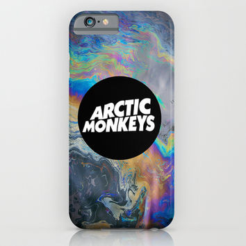 Arctic Monkeys iPhone & iPod Case by Nicole Corder