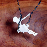 PRE ORDER  Sterling Silver Swinging Pinup Girl  Will by MarKhed
