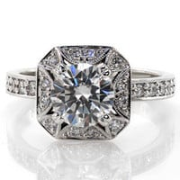 Lotus - Knox Jewelers - Minneapolis Minnesota - New Engagement Rings - Bougainvillea, Halo