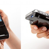 Monolith iPhone 4/4S Micro Projector by Sanwa