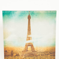 Eiffel and Lace Canvas Print - $32.00: ThreadSence, Women's Indie & Bohemian Clothing, Dresses, & Accessories