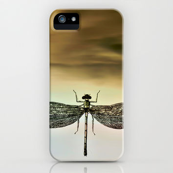 DRAGONFLY iPhone & iPod Case by Pia Schneider [atelier COLOUR-VISION]