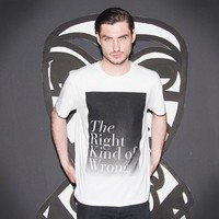 The Right Kind of Wrong t-shirt
