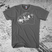 Camera Shirt Vintage SLR 35mm Analogue Film by Iheartanalogue