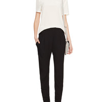 Corty High-Rise Zippered Cuff Pant