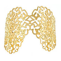 Kris Nations Orchid Filigree Cuff - Max and Chloe