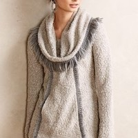 Fringed Cowl Pullover by Angel of the North Grey