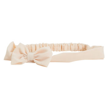 Aeropostale  Solid Bow Headband - Gold, One