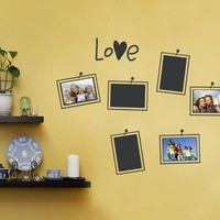 Photo Love Wall Decal - Photo Frames