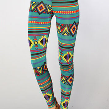 The Ganado Leggings in Blue