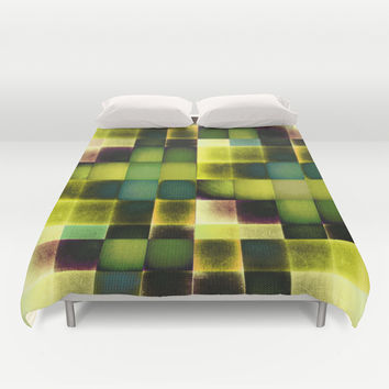 COLOURFUL HILLS V Duvet Cover by Pia Schneider [atelier COLOUR-VISION]