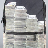The Money Stacks Backpack in Black