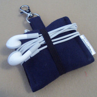 iPod Nano 6th generation or iPod shuffle cover case READY TO SHIP Navy Blue