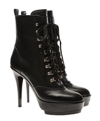 Browns fashion & designer clothes & clothing | GIANVITO ROSSI | Leather platform hiking boots