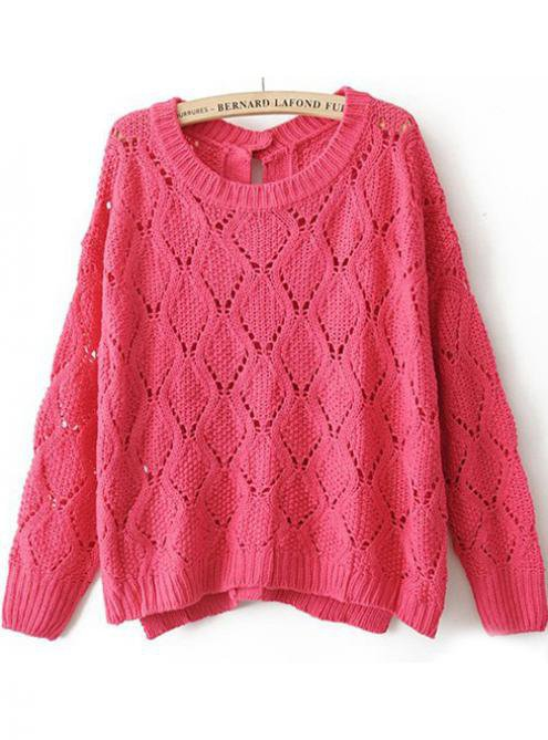 Pretty Pink Button Cardigan $44.00