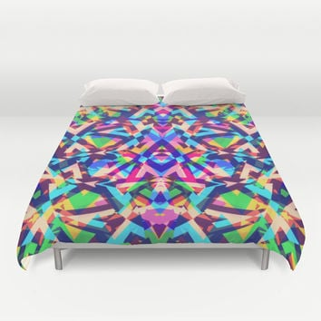 Mix #323 Duvet Cover by Ornaart