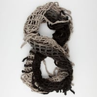 Ombre Fringe Infinity Scarf   Scarves