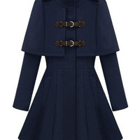 Royal Court Style Band Collar Coat [NCSOX0184] - $192.99 :