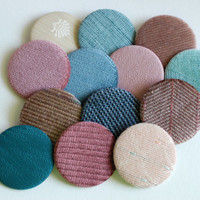 Sofa Samples/Textile 2.25 inch buttons