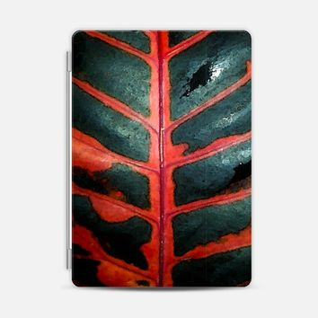 Deep red iPad 2 case by Julia Grifol designs. Surface pattern designer. | Casetify