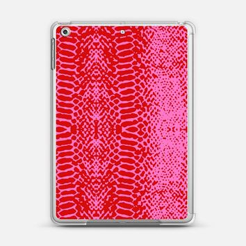Snake in pink iPad Air 2 case by Julia Grifol designs. Surface pattern designer. | Casetify