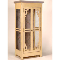 Yvonne Screen Door Armoire : Armoires at PoshTots