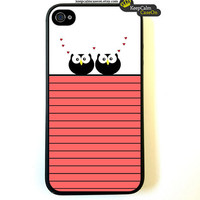 Owl Love - IPhone 4 Case, IPhone 4s.. on Luulla