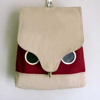littleoddforest | Wanderlust Critter Backpack (Hoot The Owl)