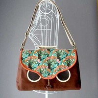 littleoddforest | Hoot The Owl Satchel (Amazonian Fauna)