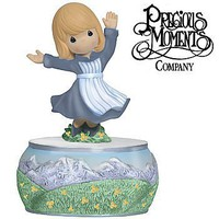 Precious Moments Musical Sound of Music Maria Figurine Rodgers & Hammerstein 114111