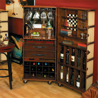 Ivory Stateroom Bar - Bars &amp; Barstools - Dining Room, Kitchen &amp; Bar - Furniture - PoshLiving
