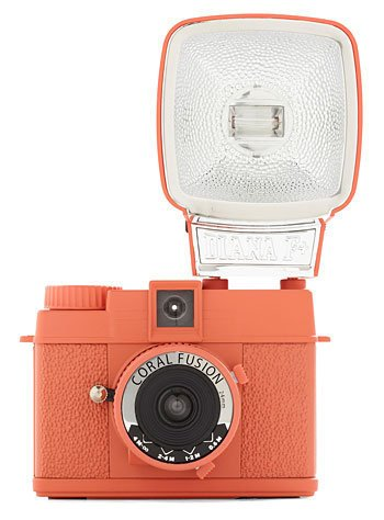 Lomography Coral Mini Diana Camera