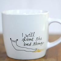 Slime The Bad Things slug mug by corduroy on Etsy