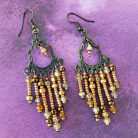 Bohemian Inspired Chandelier Earrings