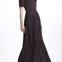 Scoopback Maxi Dress