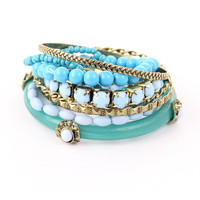 Mixed Turquoise Bracelet Pack - New Arrivals - Retro, Indie and Unique Fashion