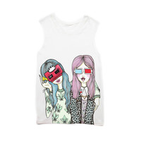Vision Girls Muscle Tee
