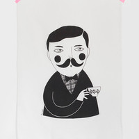 Man tea towel by Depeapa