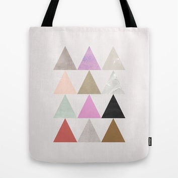 colour + pattern 25 Tote Bag by Georgiana Paraschiv