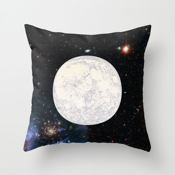 Moon machinations Throw Pillow by Anipani
