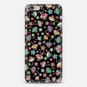 Small flowers at night iPhone 6 case by Julia Grifol designs. Surface pattern designer. | Casetify