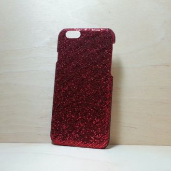 Glitter Case for iphone 6 (4.7 inches) - Red