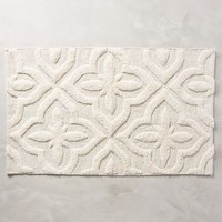 Shimmered Squares Bathmat by Anthropologie Neutral One Size Bath