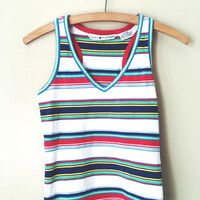 Tommy Hilfiger Multi Color Tank - Small