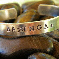 Big Bang Theory bracelet.  BAZINGA
