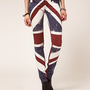 Religion Skinny Jeans With Union Jack Print at asos.com