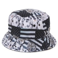 Neff Space Tiger Bucket Hat - Mens Backpack - Gray - One