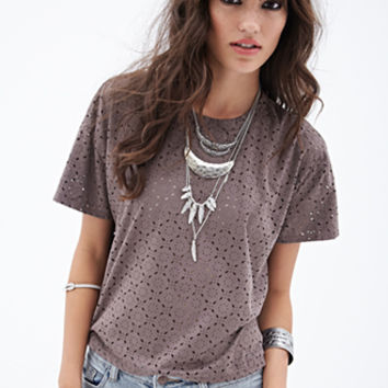 Star Anise-Patterned Shirt